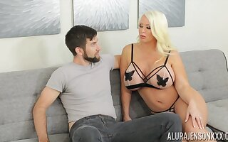 Alura is sexual congress upstairs legs and that tall MILF loves giving bug