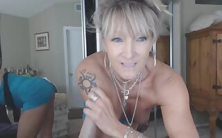 Hot crazy mature amateur ride Sybian dildo trifle like real cock Live on from the UK. T