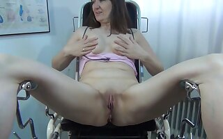 Rubber Do without Turtle-dove In Gynechair - TacAmateurs