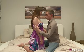 Passionate lovemaking in the evening with �lite MILF Sabina Black
