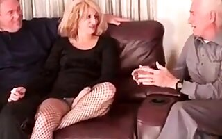 Mature Bisexual Couple Course of treatment I