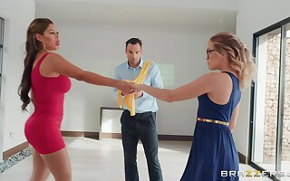 Guy cheats her high horse lady with zesty dance instructor Bridgette B.