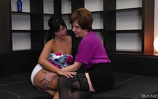 Put to rout pussy and eating ass is what Nagy Agnes and Valeria dote on