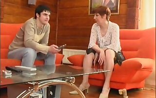 Sex-mad Russian Milf Porn Asks To Young Guy