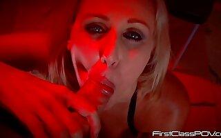 Capri Cavalli & Johnny Castle in Julia Smokes My Pole - KINK