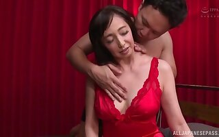 Smooth fucking heavens the bed with trimmed pussy MILF Otowa Ayako