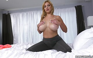 The big black dick seems more than perfect for this prurient mature slut