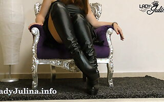 Clean the boots of your dominatrix JOI CEI - LJ Prototypical
