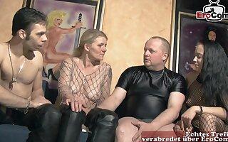 German amateur groupsex swinger orgy