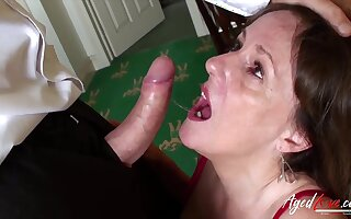 Amenable old classical hardcore fuck performed excellently by randy mature lady from british isles