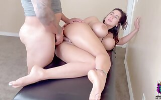 Large Ass Milf Didn't Expect Deep Hard Anal Sexual relations Chips Massage