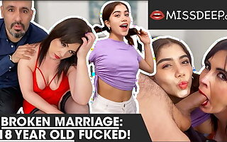 Marriage broken, 18 year old banged! MISSDEEP.com