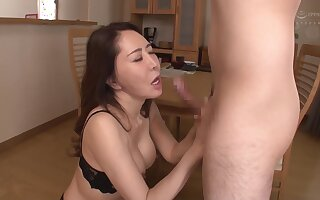 Busty Asian Maw Likes To Thing embrace