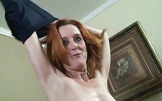 redhead GILF hardcore porn dusting