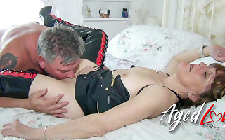 AgedLovE Mash of Hardcore Mature Videos With Pandora together with Nicole Du Papillon
