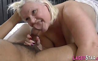 Busty Gran Lacey Starr Sucks Big Jet Cock - Lacey starr
