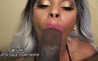 Perfect Deepthroat Horseshit Sucking Skills Be useful to Ebony Hooker