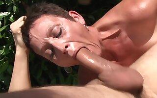 Granny Mating Orgy Outdoor - Interracial Porn