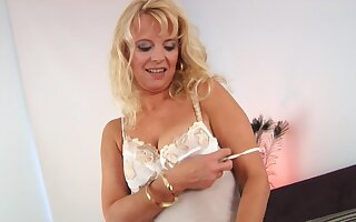 Mature mom Doggystyle Fucked By Show one's age