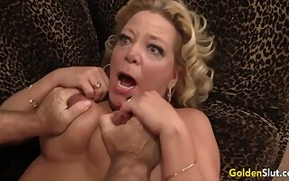 Stunning Mature Blondes Getting Drilled Compilation Part 1