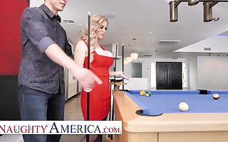 Naughty America - Casca Akashova fucks her son's friend on