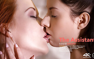 The Assistant Episode 3 - Seduction - Isabella Lui & Rebecca Volpetti - VivThomas