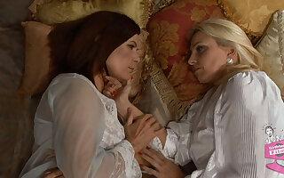 Cindy Craves & Magdalene St. Michaels in Girls in White #06, Scene #03