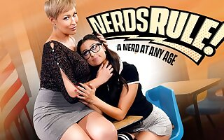 Eliza Ibarra & Ryan Keely in Nerds Rule!: A Nerd At Any Age, Scene #01 - GirlsWay