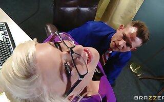 Bill Bailey and his new secretary Leya Falcon