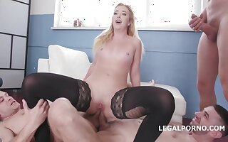 Samantha Rone got properly well stocked with a rock hard dick, until she started screaming from pleasure
