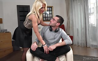 Super seductive with the addition of remarkably sizzling busty blondie Tiffany Rousso loves fuck