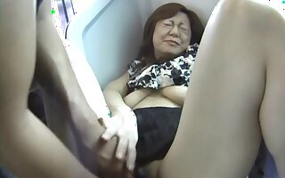 Small Bristols Japanese moans greatest extent getting fingered in bring in transport