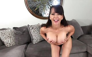 Big Knockers Coupled with Dirty Talk - MILF solo