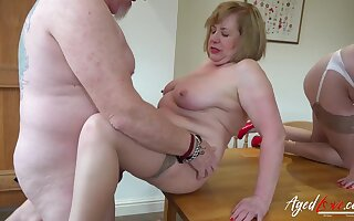 AgedLovE Two Matures With an increment of Cock Hardcore