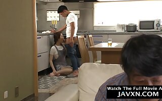 Arousing Japanese Milf Wants Stepsons Flannel