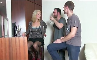 Watch this milf ... retty element while getting fucked